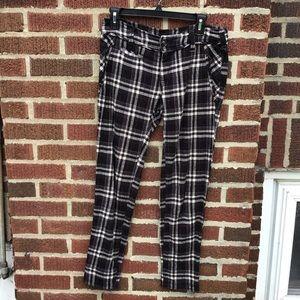 Free People Plaid Pants